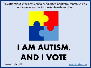 I am autism and I vote